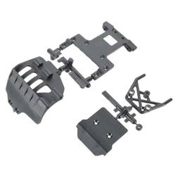 fury 2wd sct ar320004 bumper rear chassis