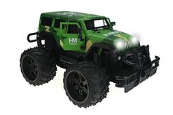 Jeep Wrangler Army Camo Cross Country 1:14 Scale Battery Ope