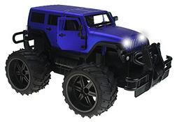 Jeep Wrangler Cross Country 1:14 Scale Battery Operated Remo