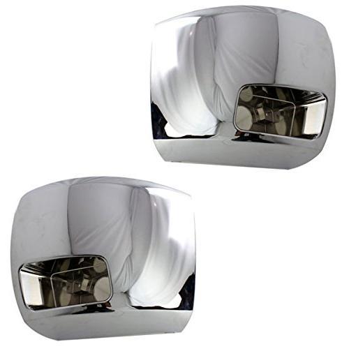 07 10 silverado front bumper extension end