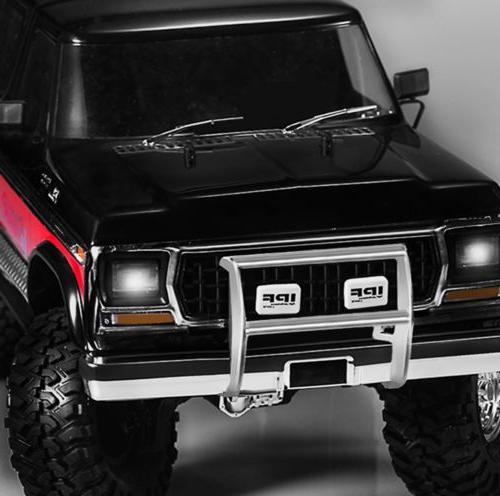1:10 Front Bumper & LED Bracket For Traxxas TRX-4 Bronco RC Car