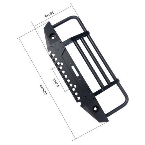 1/10 Metal Bumper Winch LED light Trx4 US