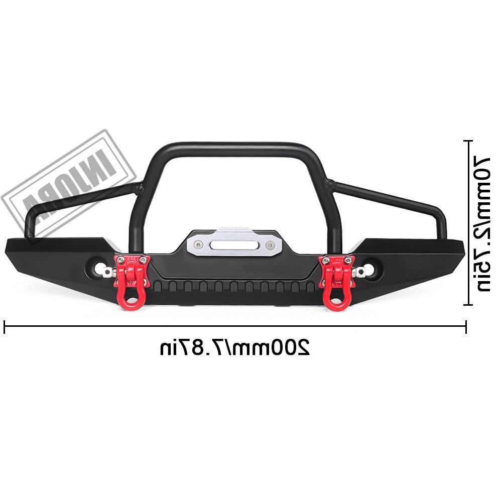 INJORA Car with Light for Axial SCX10 90046 Traxxas <font><b>TRX</b></font>-<font><b>4</b></font>