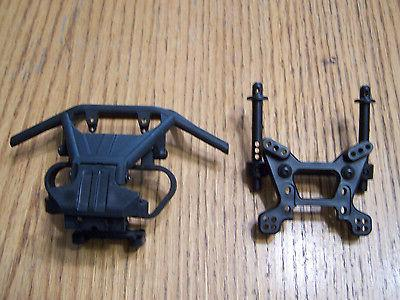 1/10 Axial Yeti Rock Racer Front Bumper Skid Front Shock Tow