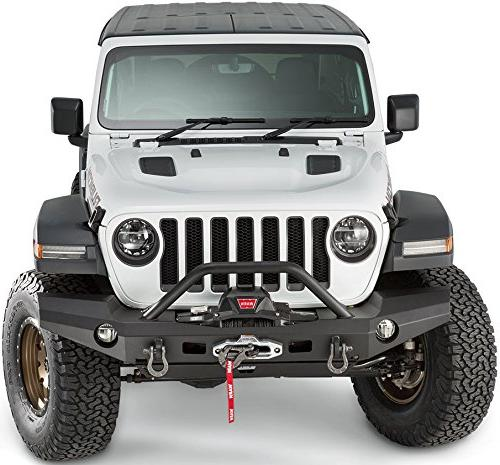 WARN 101337 Elite Full-Width Front for Jeep Grille Tube