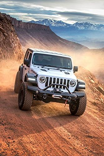 WARN Elite Full-Width Front Jeep JL with Grille Guard