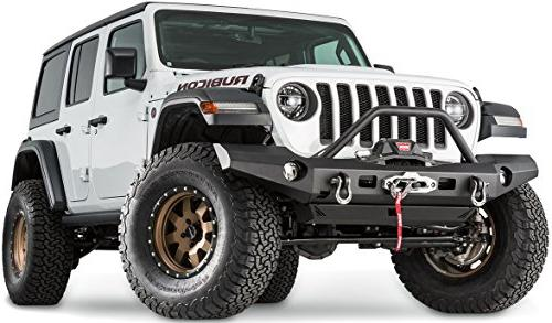 WARN 101337 Full-Width Front for Jeep JL Wrangler, Grille