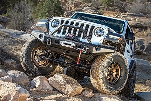 WARN Elite Full-Width Front Jeep Wrangler, Grille Tube
