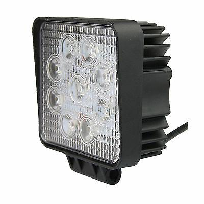 2PCS 27W Square Spot Light Driving Front