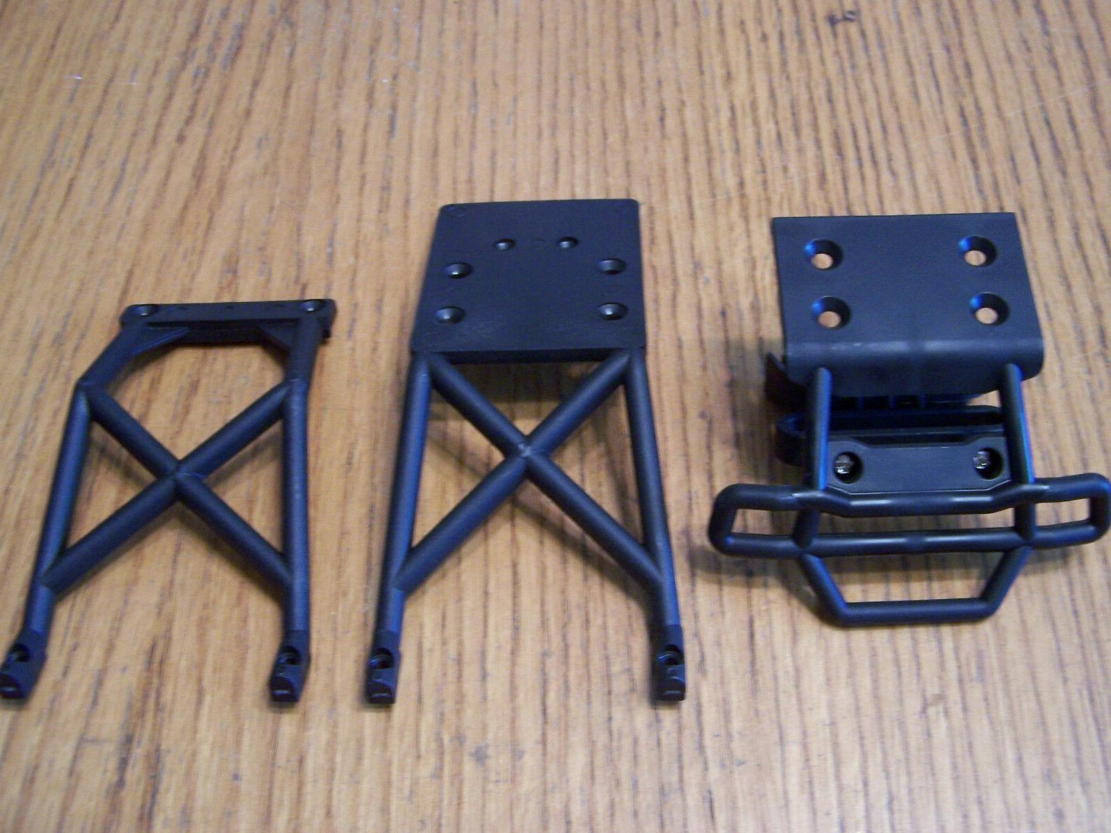 Traxxas 2wd XL-5 VXL Stampede Front Bumper Skid Plate Set Ch