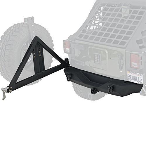 76856 xrc black textured rear bumper