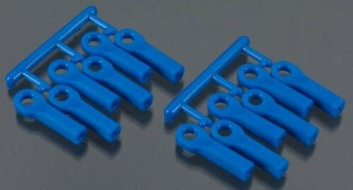 RPM 80515 Rod Ends Long Blue Slash Summit T/E Maxx E-Revo, S