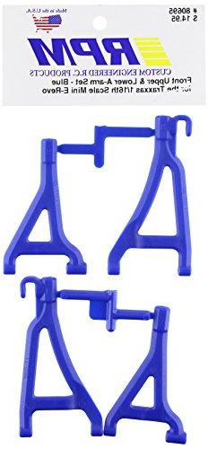 RPM 80695 Front Upper/Lower A-Arms Blue 1/16 E-Revo Blue