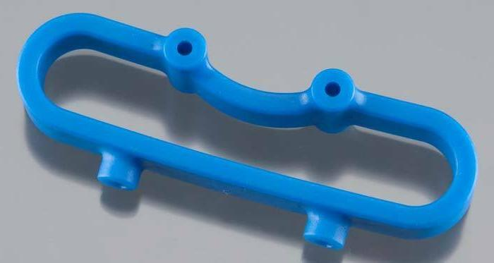 RPM 80805 Blue Front Bumper Mount Traxxas Revo 2.5, 3.3, 1/1