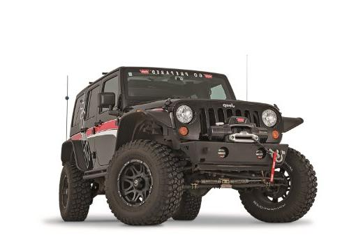 Warn Elite Series; Front Bumpers; Guard Tubes;