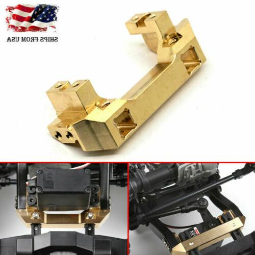 96G Heavy Duty Brass Front Bumper w/Servo Mount For TRAXXAS