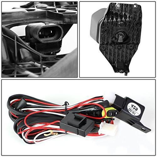 For 11-16 Ford Super Duty Bumper Lights+Wiring Kit+Bezel+Switch