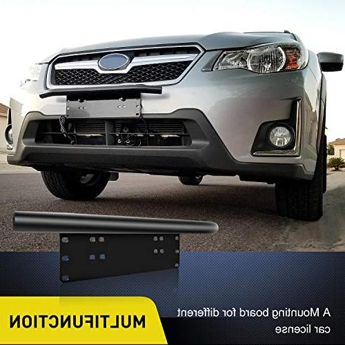 Nilight Light Mounting Bracket Plate Bracket License Plate for Off-Road Lights Work Lamps Lighting Years