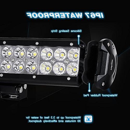 Nilight Bar 2PCS 20 Led Off Road Driving Lights Led Lights Jeep Lights LED Work Light Years