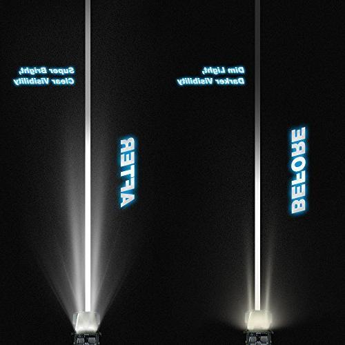 Nilight 20 Inch Lights Led Lights Jeep Lighting LED Work Light Years Warranty