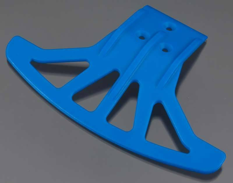 RPM Wide Front Bumper for The Traxxas Stampede 4X4, Blue