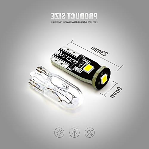 SiriusLED Bright 3030 Chipset Car Interior Dome Door Courtesy License Lights 168 Xenon White