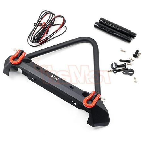 aluminum alloy front bumper w led light