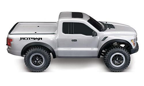 Traxxas Automobile 1/10 2WD Raptor Silver