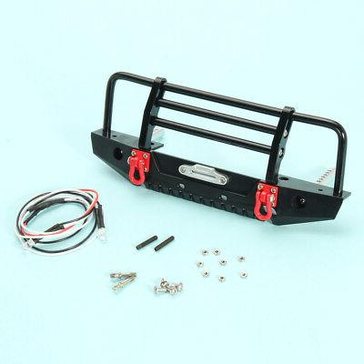 Black Alloy Bumper w/LED TRX-4