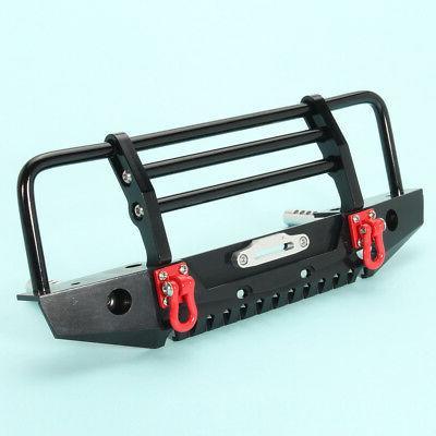 Black Bumper w/LED TRX-4 SCX10 II/TRX4-032