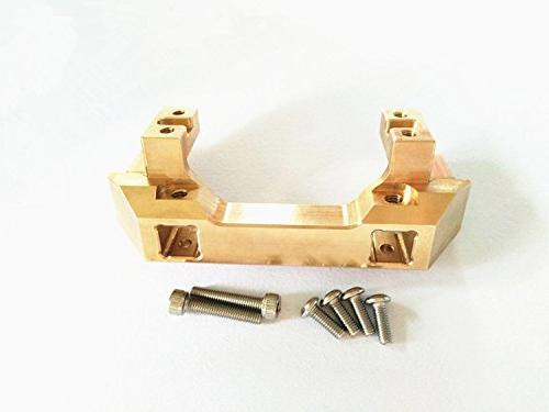brass front bumper mount servo
