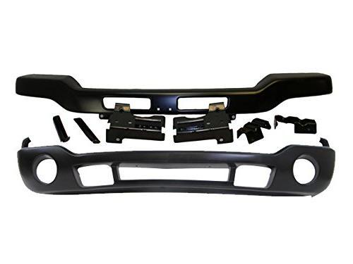 bundle 03 07 sierra front bumper black