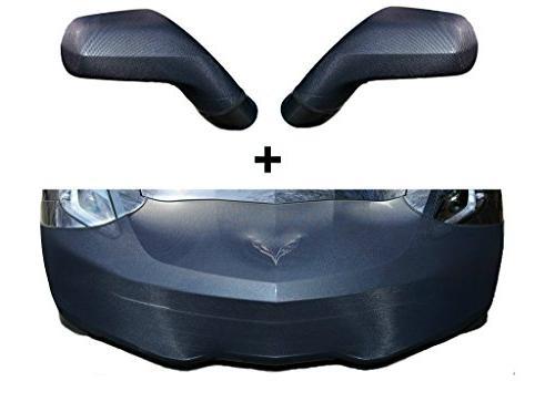 c7 corvette stingray front mirror bra high