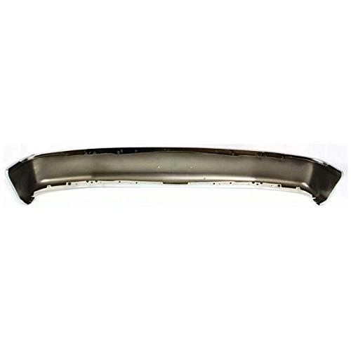 MBI Chrome, Steel Front Bumper Face Bar for 1992-1996 F150 Bronco Pad Holes