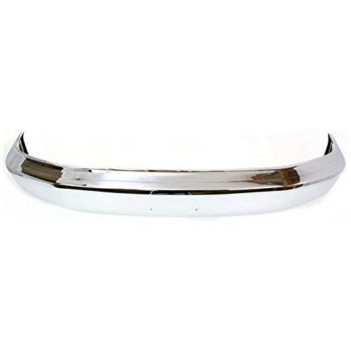 MBI - Chrome, Steel Front Bumper Face Bar F150 & W/Out