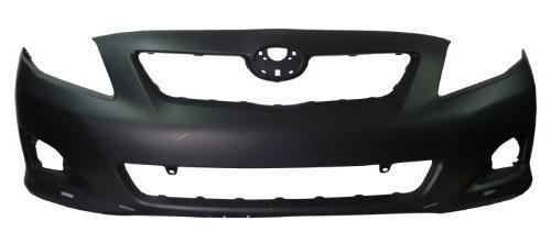 corolla 09 10 front bumper cover primed