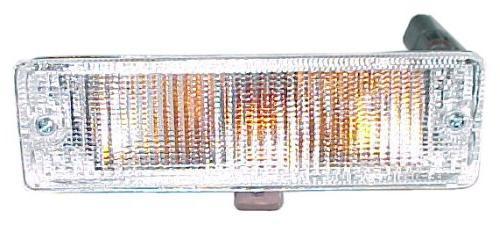 cwb 1000 clear front bumper light pair