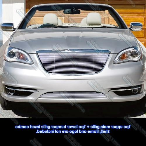fits 2011 2014 chrysler 200 billet grille