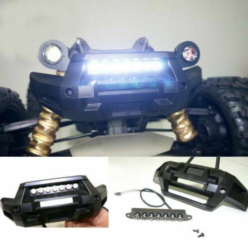 Front Bumper 7 LED Light Bar Lamp Lighting for Traxxas X-MAX