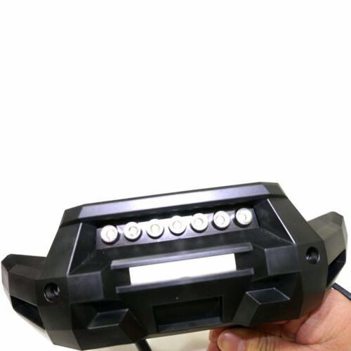 Front Bumper 7 LED Light Lamp Mount for 1/5 Traxxas