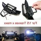 Front Bumper LED Light Bar 5mm Lamps Mount For Traxxas X-MAX