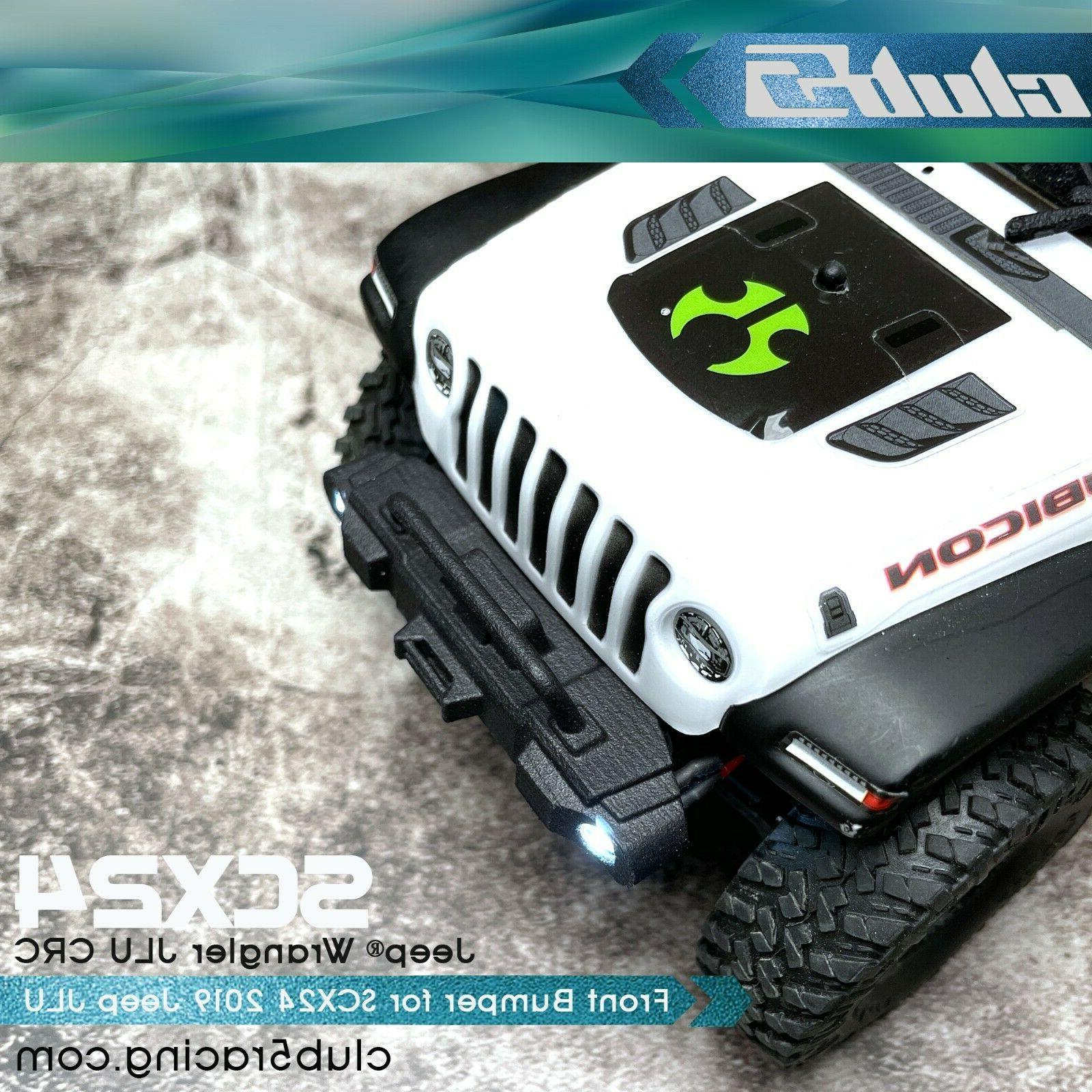 Front Rubicon Bumper for SCX24 2019 Jeep Wrangler JLU