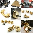Heavy Brass Servo Mount Wheel Knuckle Weight Hubs Links for