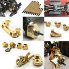 Heavy Brass Servo Mount Wheel Knuckle Weight Hubs Links for