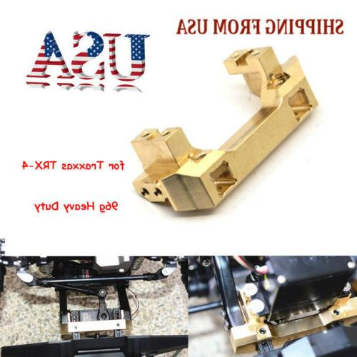 heavy duty brass front bumper servo mount