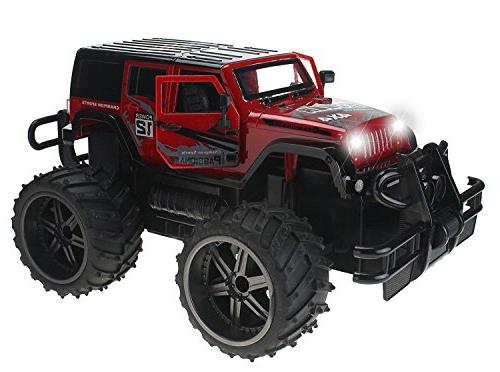 jeep wrangler cross country 114 scale battery operated remot