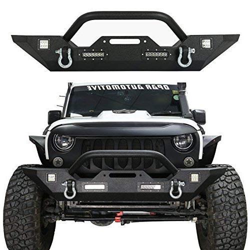jeep wrangler front bumper rock crawler bumper