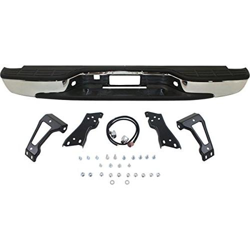 MBI - Complete Chrome Rear Bumper For 1999-2006 Chevy 1500 Truck
