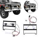 Metal Front Bumper & 2-LED Lights Fits For Traxxas TRX-4 For