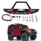 Metal Front Bumper Guard & Light Headlights Set For TRAXXAS